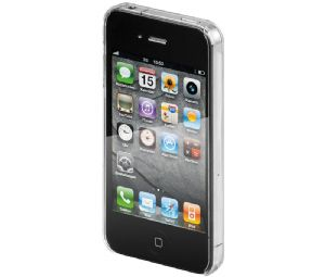 ACDI-020 Funda rigida transparente para iPhone 4 y iPHONE 4S